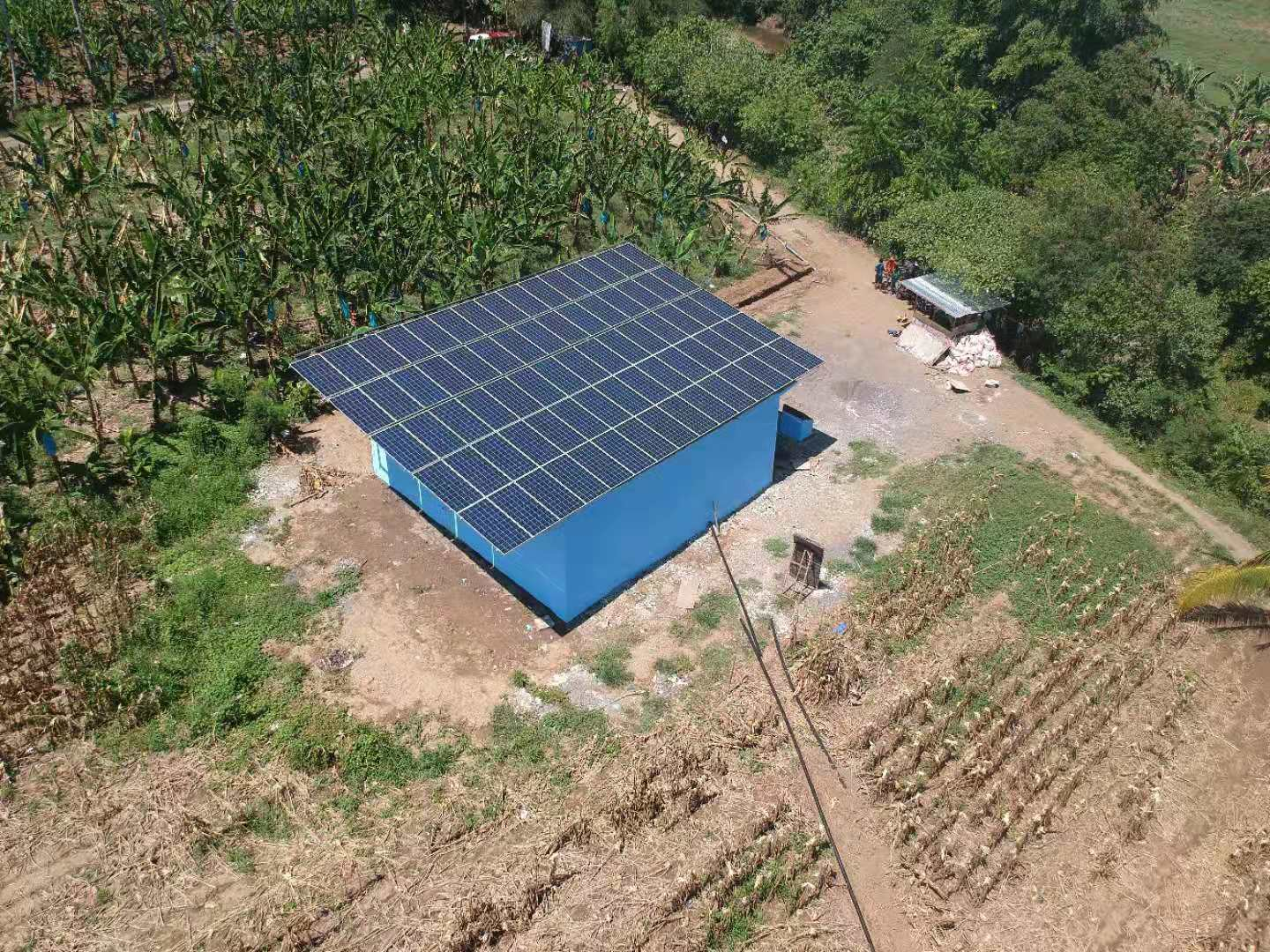15KW Solar Pumping System in Philippines