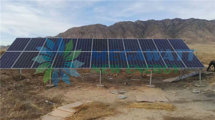 4KW Solar Powered Daily Water Supply in China