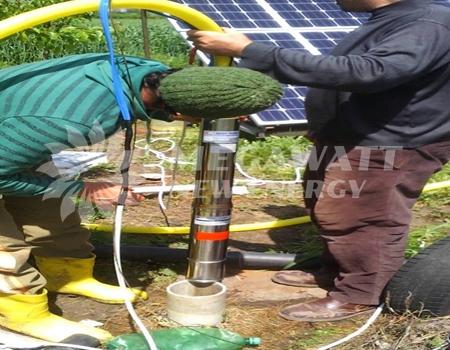 Solar drip irrigation system in Turkey
