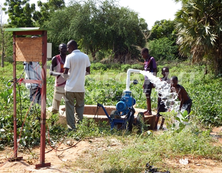 Solar Irrigation Project In Niger Solar Powered Water