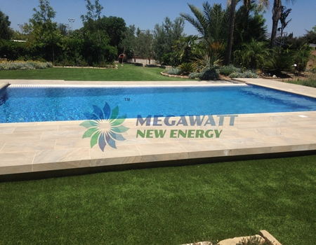 Automatic Solar Swimming System Project In Cyprus Solar