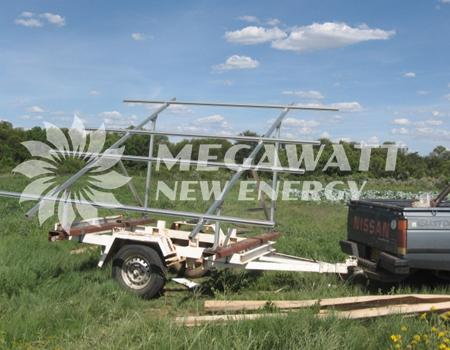 Solar Farm Irrigation Project In Botswana Solar Powered