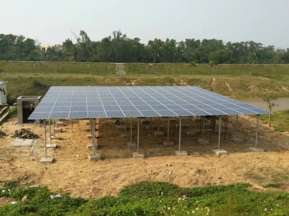 15KW Solar Powered Water Pumping System in Hainan,