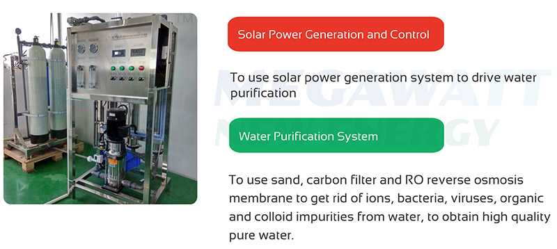 Solar powered water purification introduction