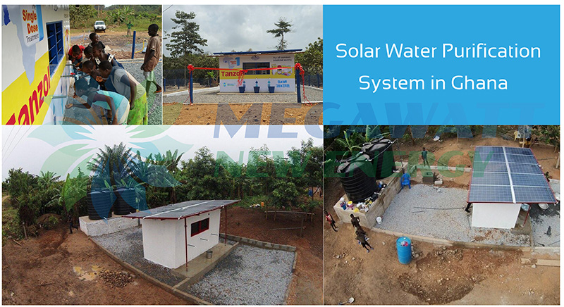Solar Powered Water Purification System in Ghana
